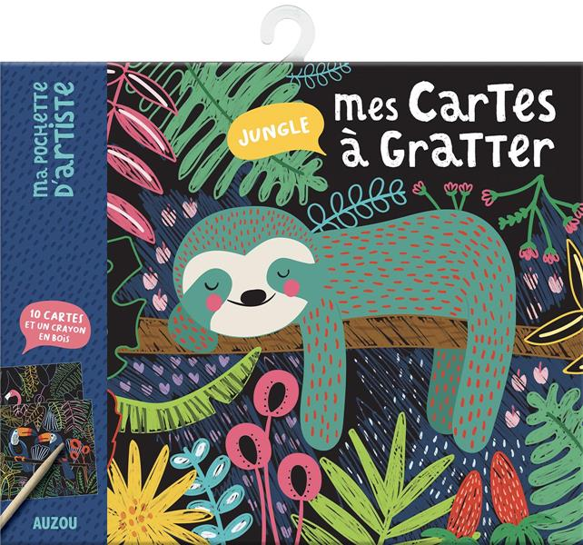 MES CARTES A GRATTER - JUNGLE